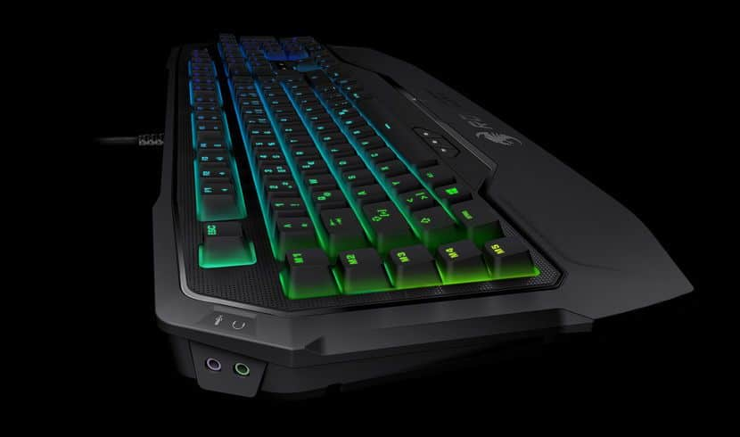 clavier blackwidow chroma how to connect headphones with usb port