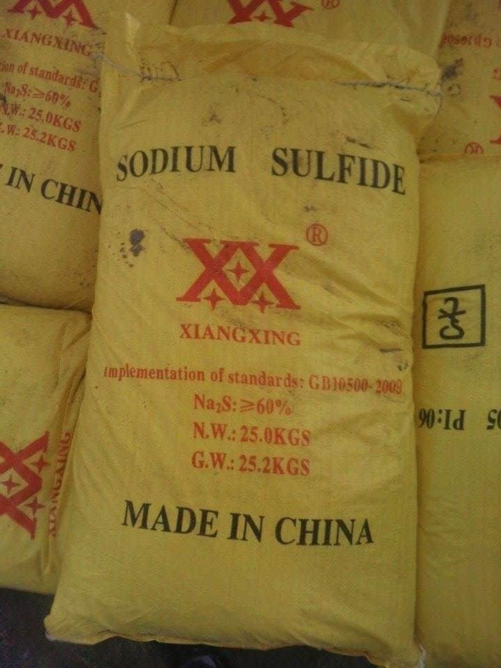 bán buôn đá thối giá rẻ đại lý phân phối Na2S giá rẻ toàn quốc