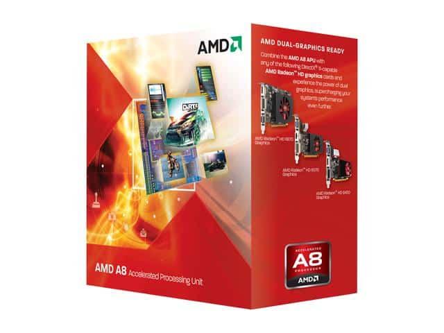 AMD A8-Series A8-3850 Desktop CPU APU FM1 905pin PGA AD3850WNZ43GX AD3850WNGXBOX