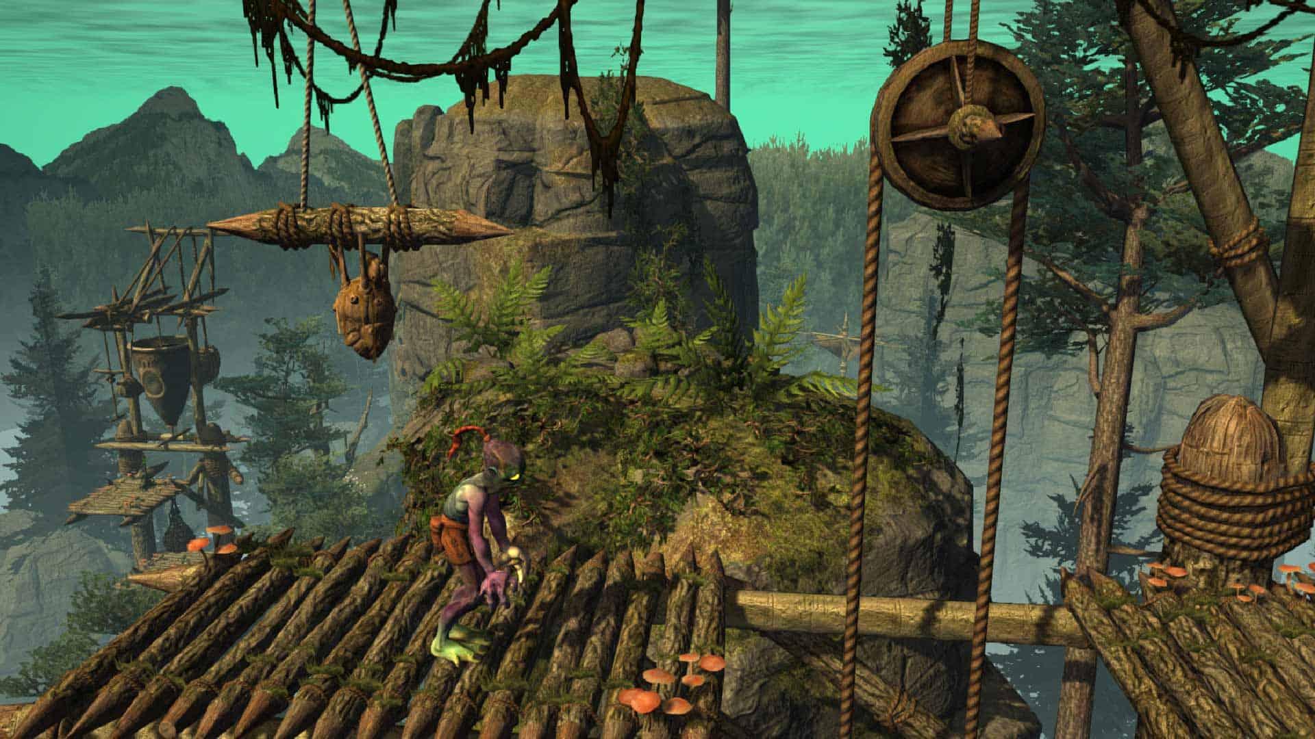 Hasil gambar untuk gambar game oddworld abe's oddysee