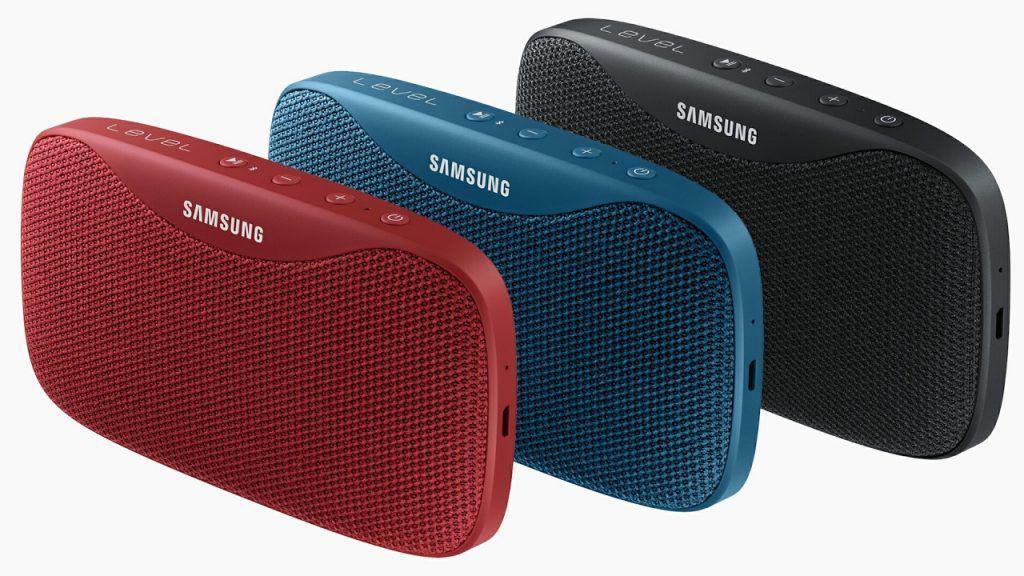 SAMSUNG EO-SG930 Level Box Slim 8W Bluetooth Speaker Red