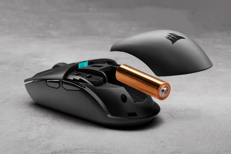corsair gaming katar mouse ambidextrous pro player modes 8000 dpi backlit red m65 rgb sabre (optical/laser) scimitar and