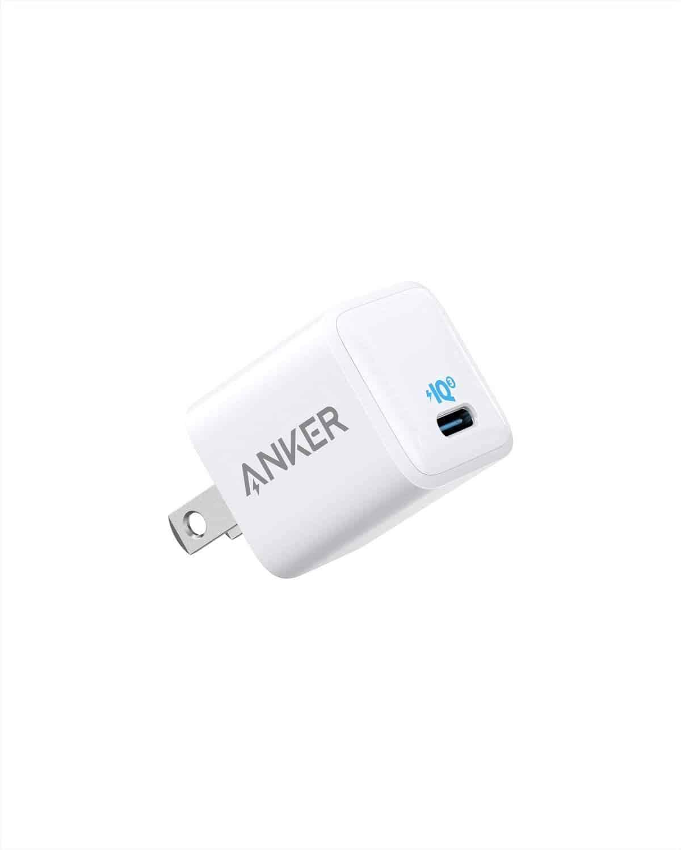 anker powerport iii nano 18w – a2616 sạc pd a2716 usb-c charger ladegerät piq 3 0 (pd対応 超小型急速充電器) 2 pack 20w