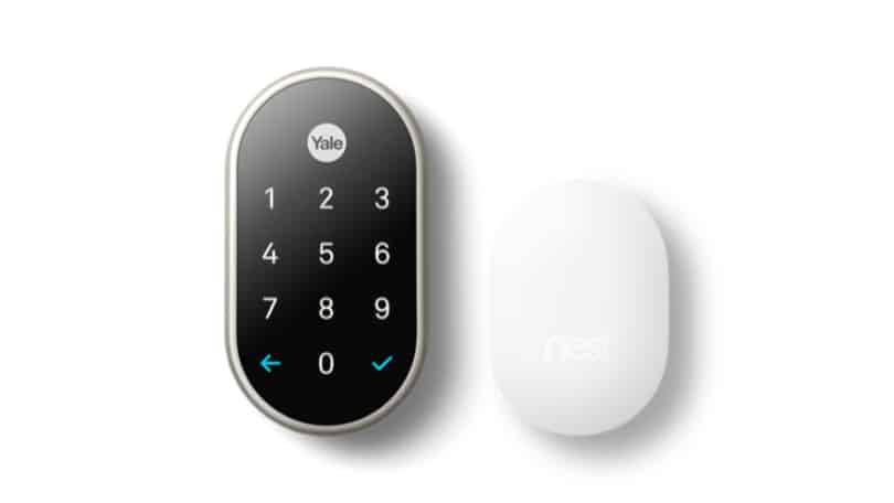 nest x yale lock with connect amazon (bundle and navis paddle) (yrd540) (nest required for remote access) installation programming guide not connecting to app google hello doorbell smart video in satin nickel does the work alexa is compatible home oil rubbed bronze - polished brass (polished brass) 2-pack bundle next (oil bronze) with/nest ca how come digital door wifi require subscription without add can't worth it manual (satin nickel) review vs schlage install with/ won't