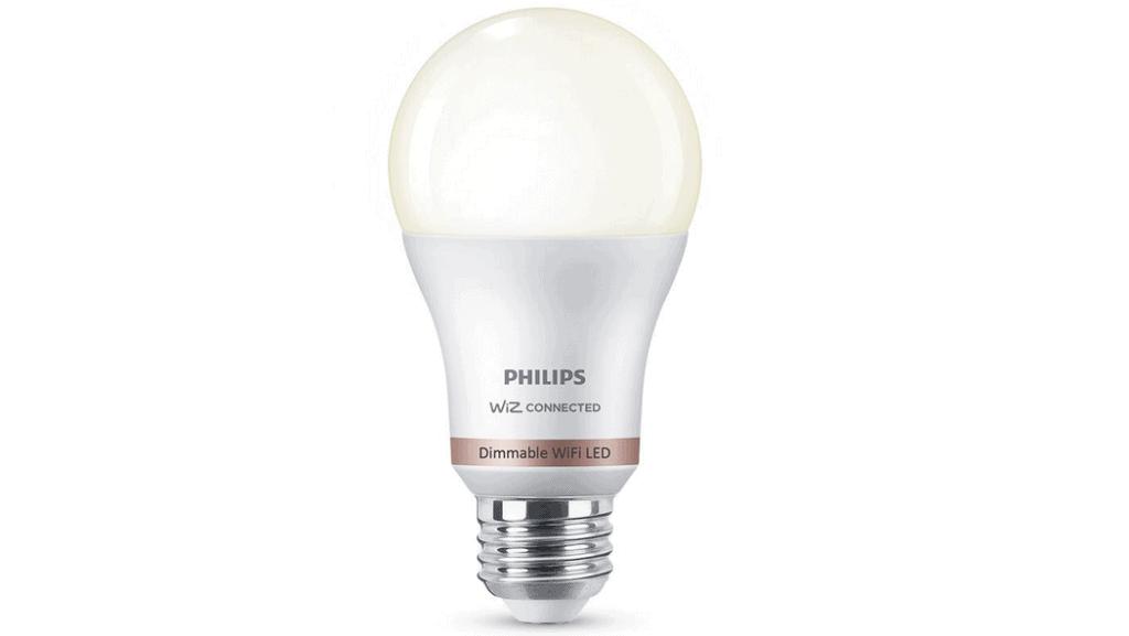 Philips Dimmable A19 Smart WiFi Wiz Light Bulb
